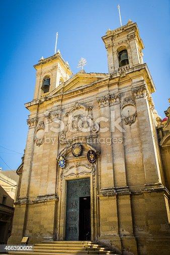 istock St. George's Basilica, Victoria, Gozo, Malta 466390602