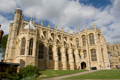 St Georges Chapel Windsor Castle Stock Photo - Download Image Now