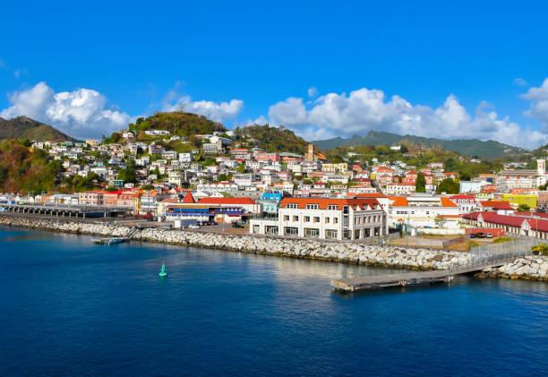 St. George's, Grenada, Caribbean stock photo