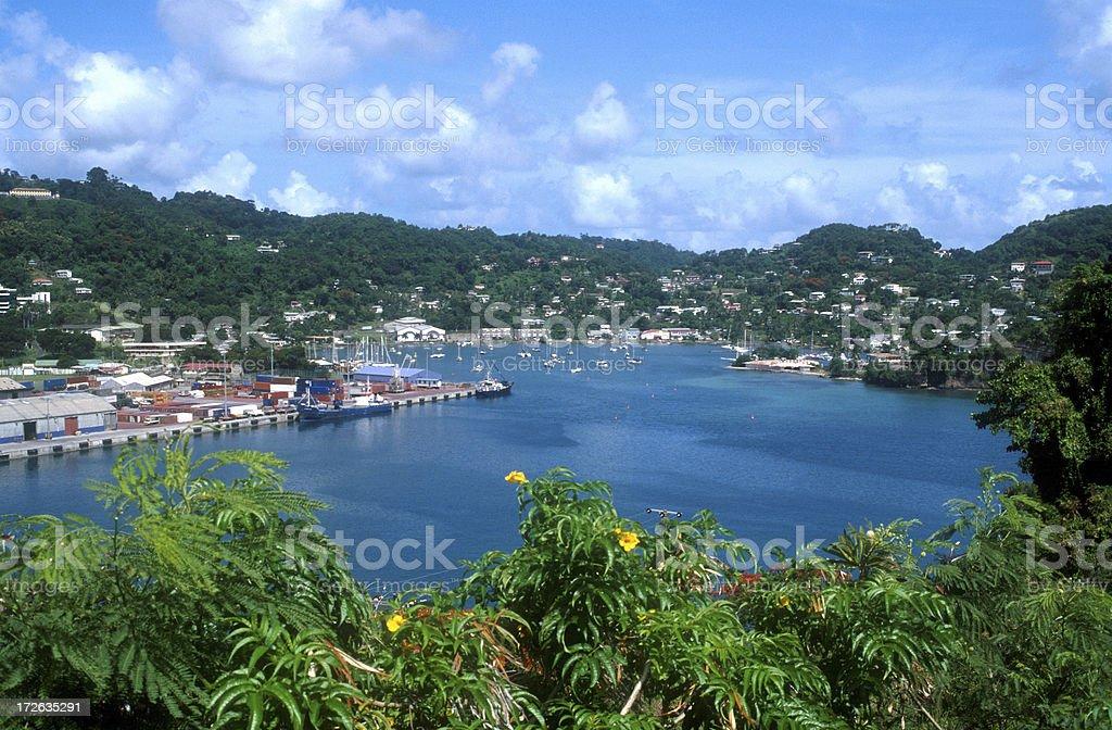 St. George's, Grenada royalty-free stock photo