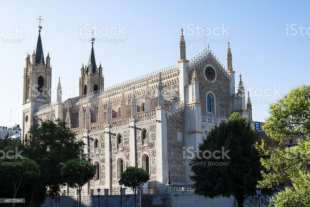 St Geromimo the Royal stock photo