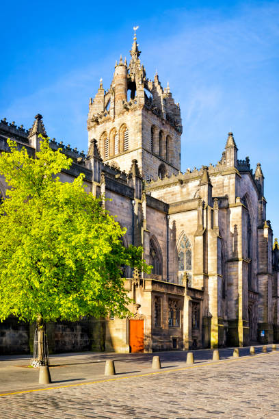 St Giles Cathedral on the Royal Mile, Édimbourg, Ecosse, Royaume-Uni - Photo
