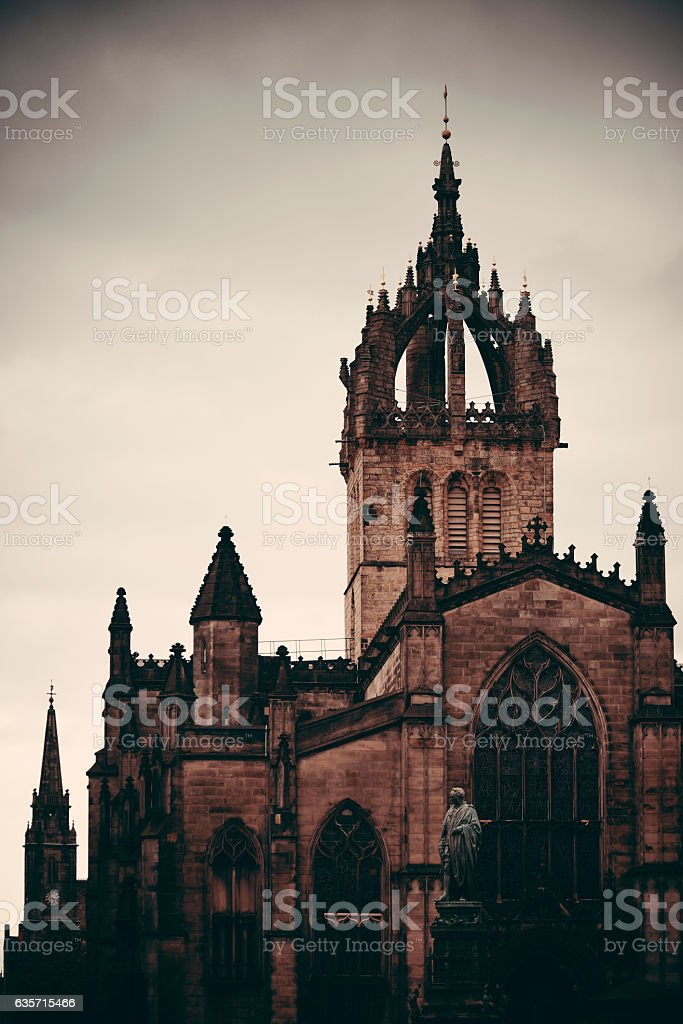 St Giles' Cathedral royalty-free stock photo