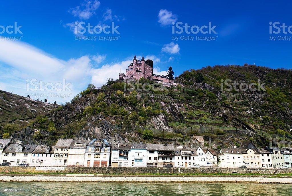 St. Goar Rhineland Palatinate Germany stock photo