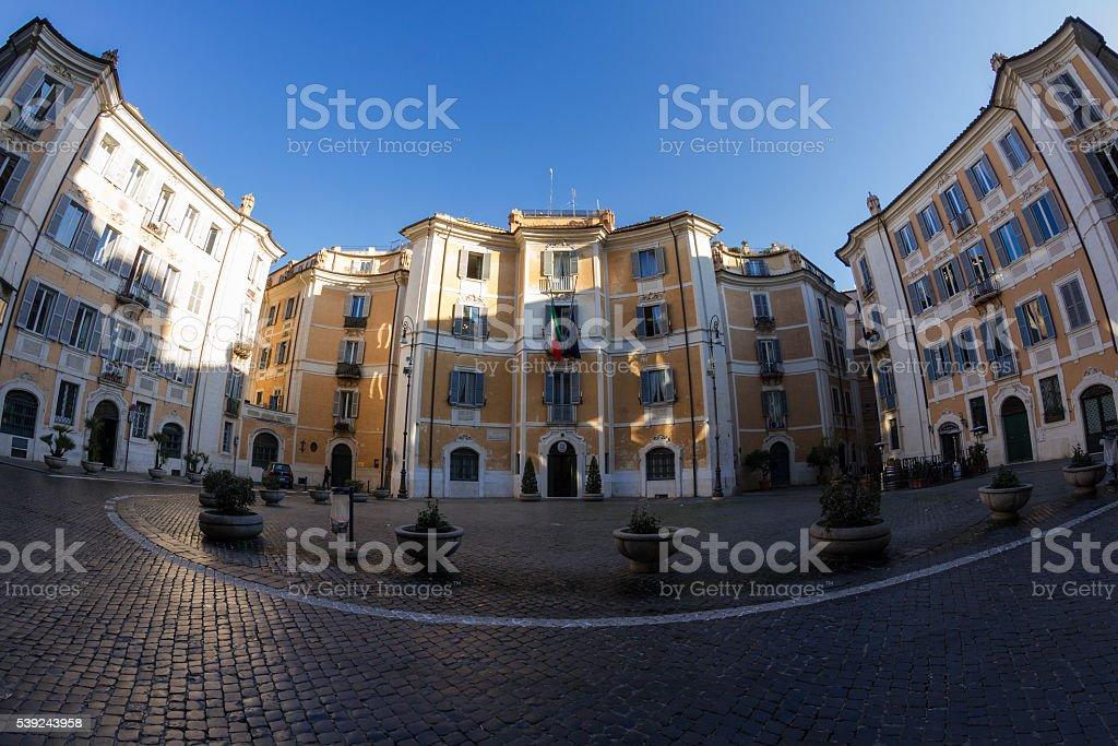 Piazza di Sant'Ignazio royalty-free stock photo
