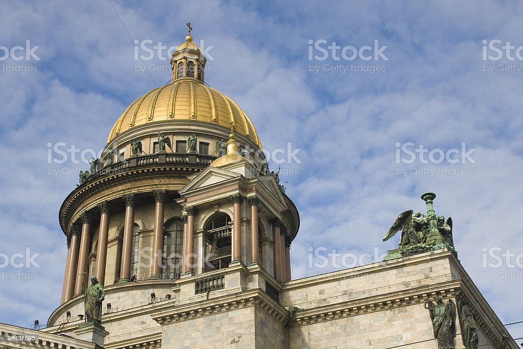 St. Isaac cathedral in St.Petersburg royalty-free stock photo
