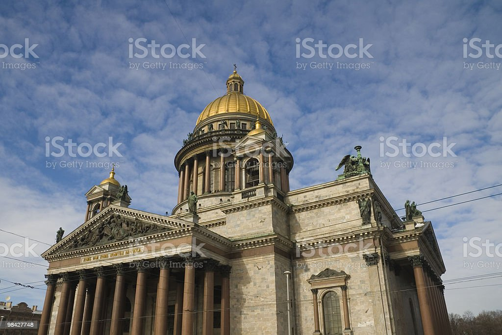 St. Isaac cathedral royalty-free stock photo