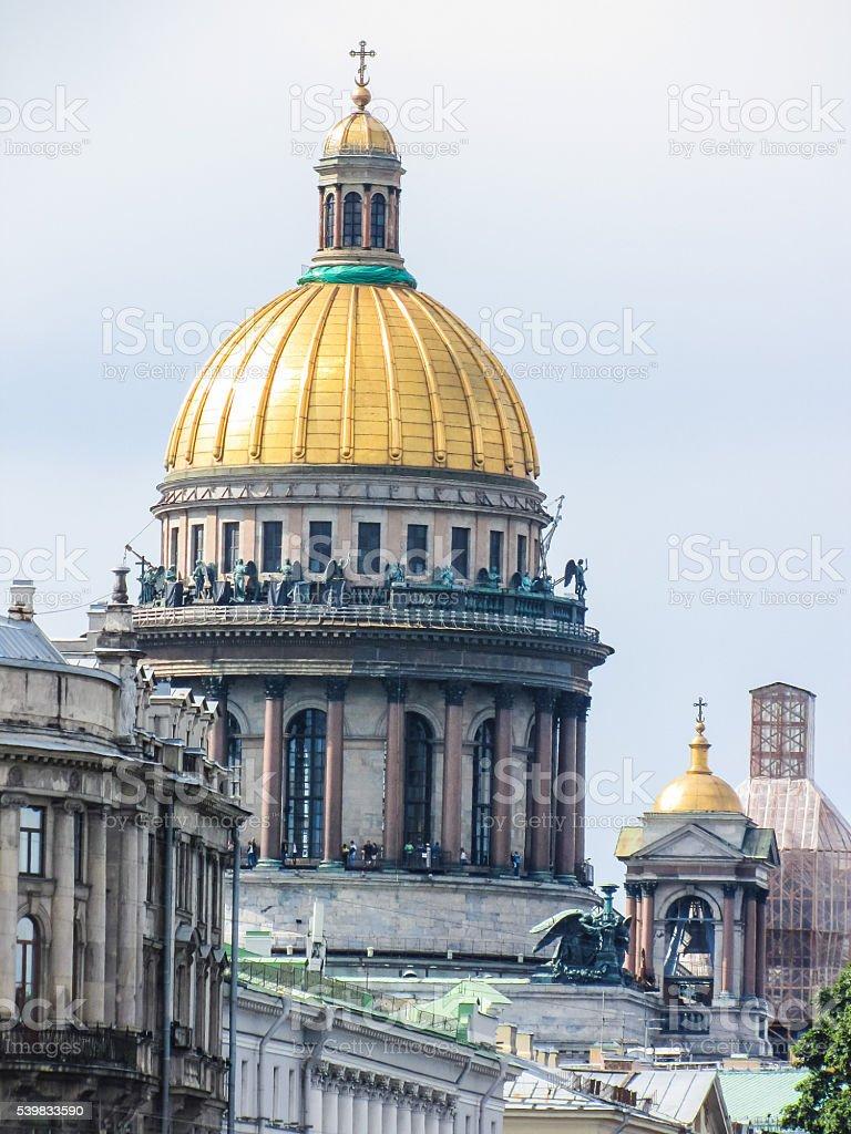 Исаакиевский собор в Санкт-Петербурге  стоковое фото