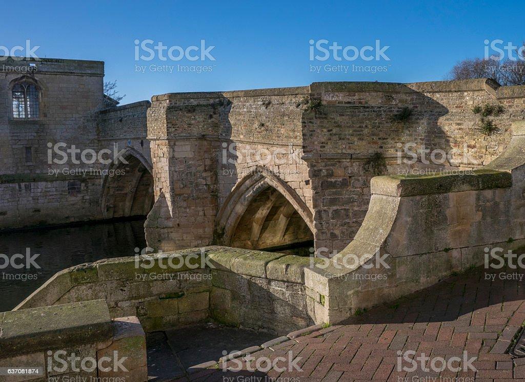 St Ives Bridge, Cambridgeshire, England stock photo