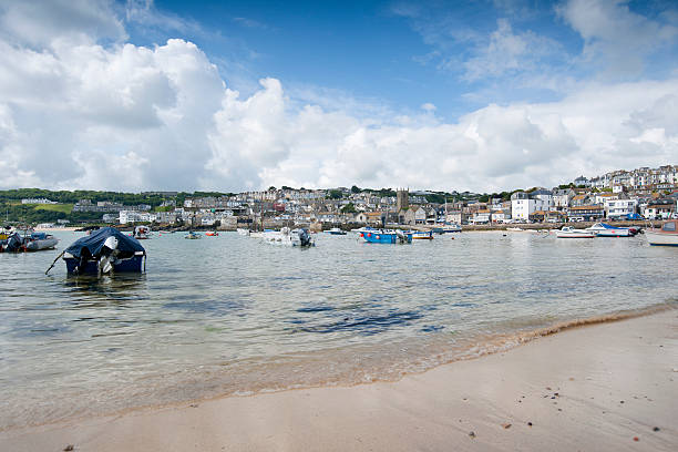 st ives cornwall - cornwall stock pictures, royalty-free photos & images