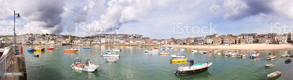 St Ives Harbour royalty-free stock photo