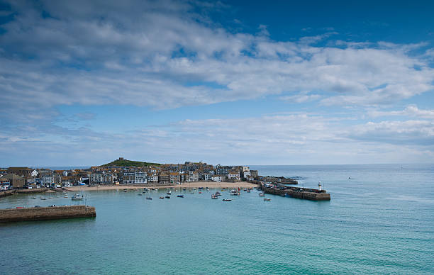 st ives - cornwall stock pictures, royalty-free photos & images