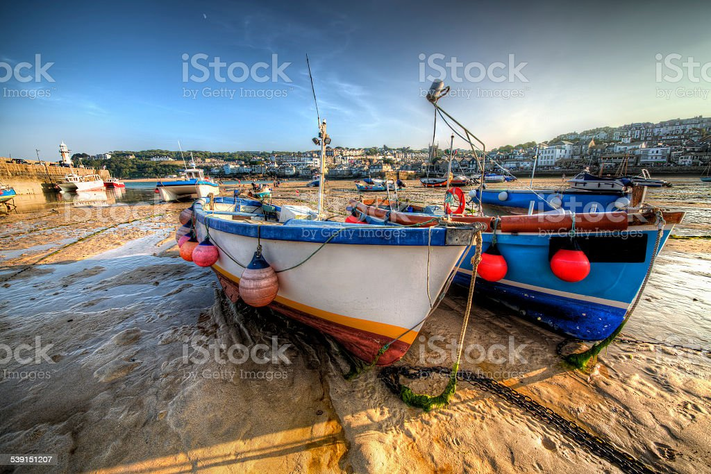 St Ives stock photo