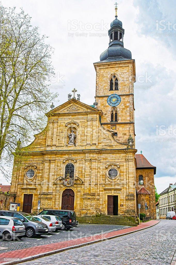St Jakob Church in Bamberg in Germany stock photo