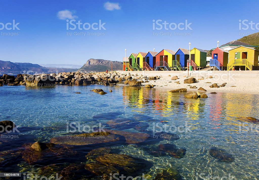 St James Beach, Cape Town stock photo