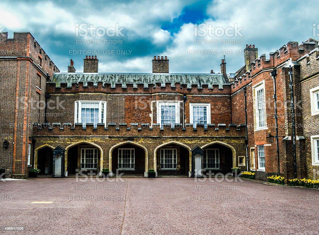 St. James' Palace - London, UK stock photo
