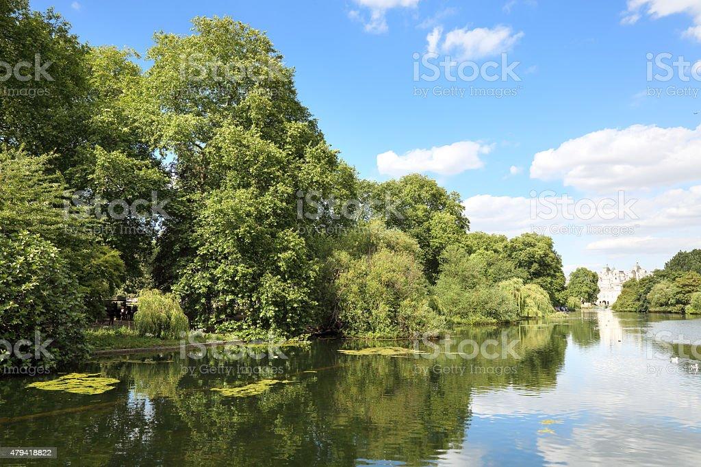 St. James Park stock photo