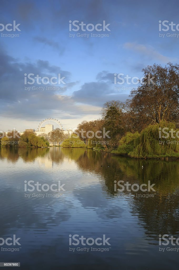 St. James's Park - London royalty-free stock photo