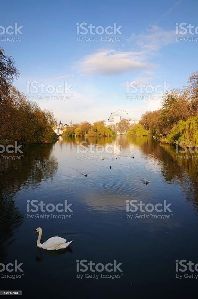 St. James's Park - London stock photo