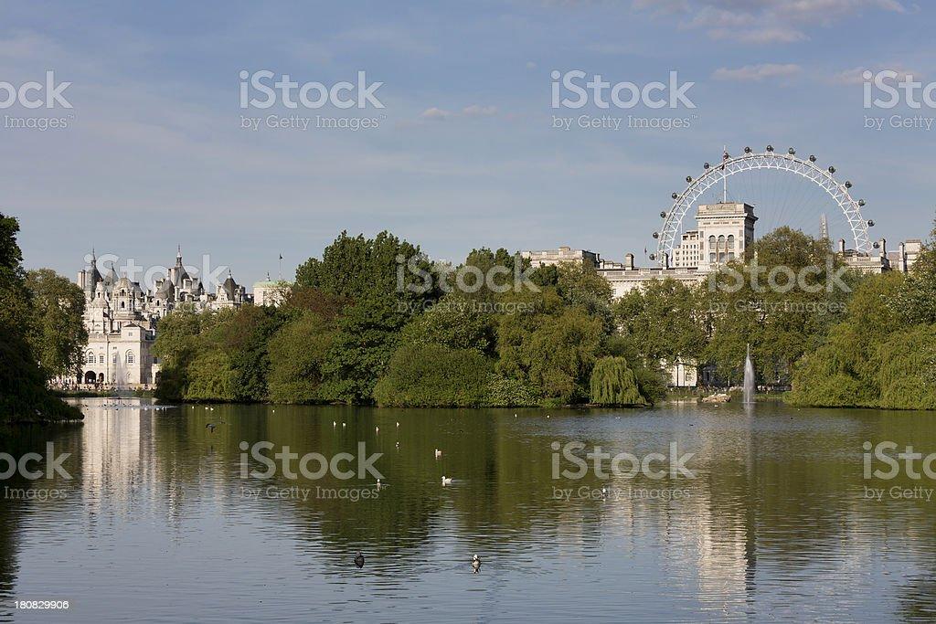 St James's Park royalty-free stock photo