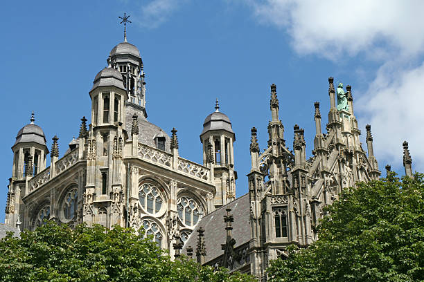 St. Jan Cathedral, 's Hertogenbosch, The Netherlands # 2 stock photo