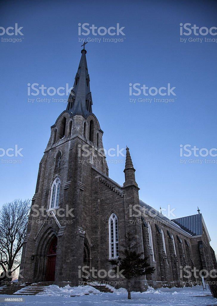 St. Joachim Church, Pointe Claire royalty-free stock photo