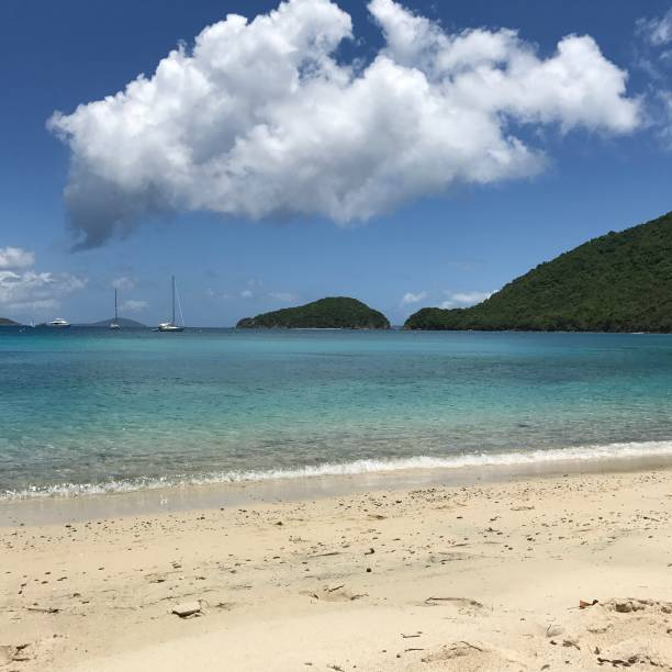 St John Beach and water perfection