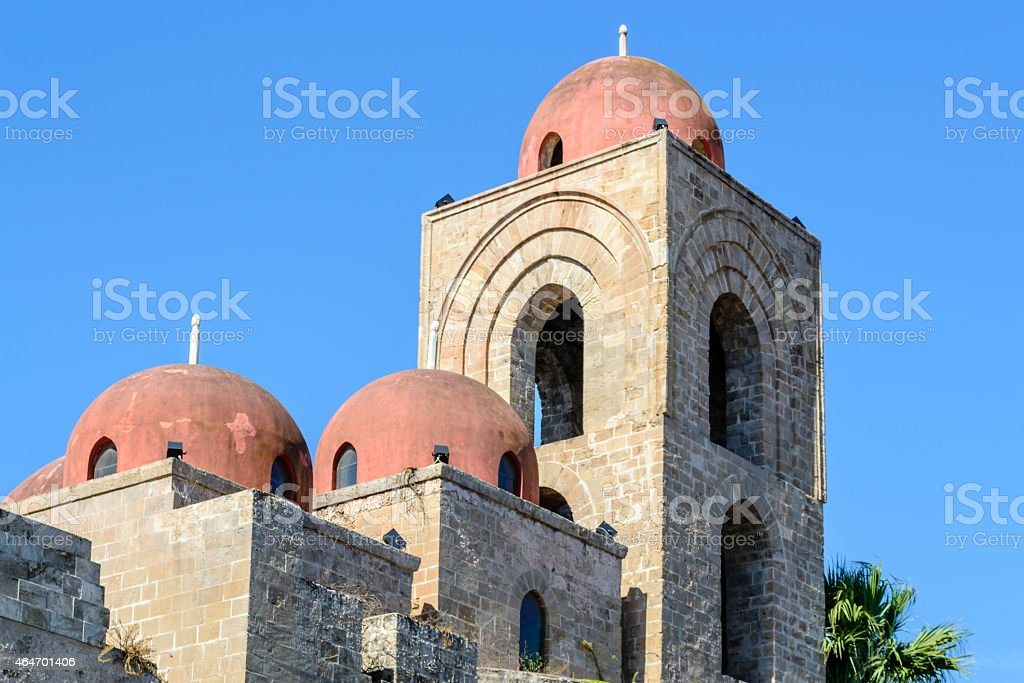 St. John of Hermits Domes stock photo