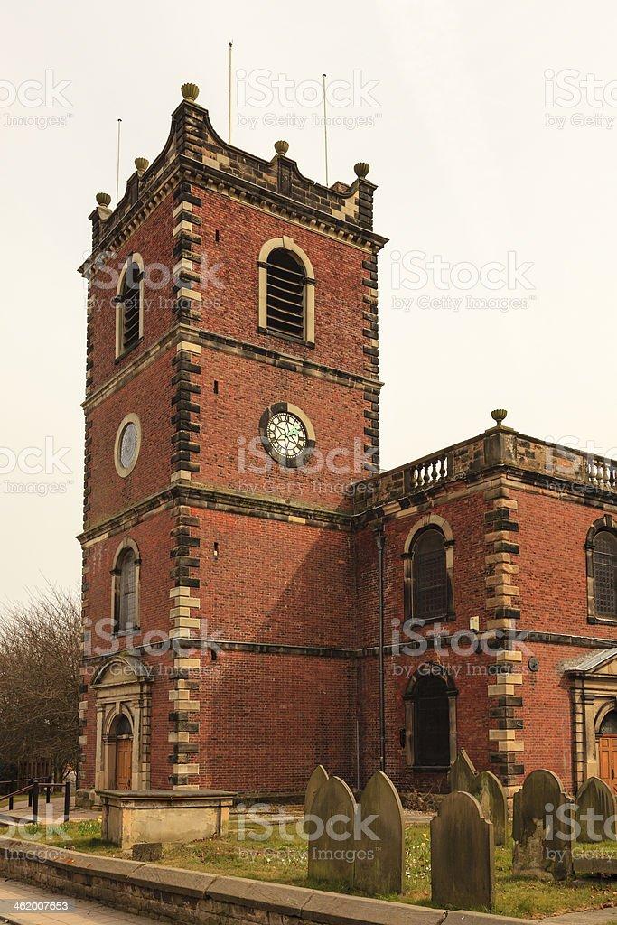 St John The Baptist Church stock photo