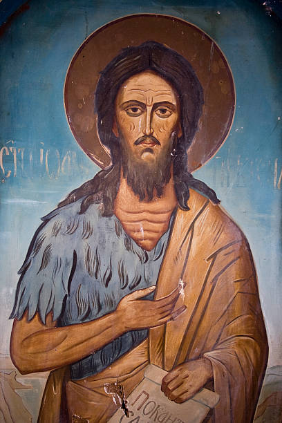 St. John the Baptist  religious saint stock pictures, royalty-free photos & images