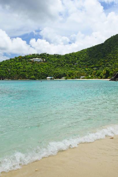 St. John US Virgin Islands beach stock photo