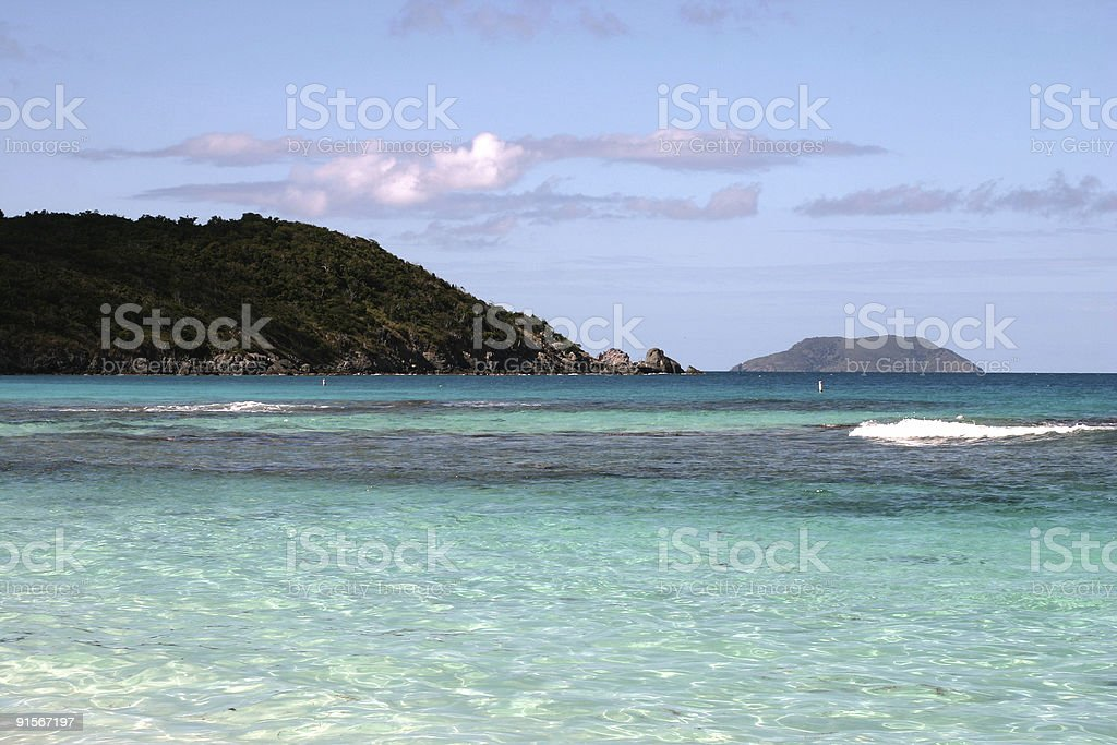 St. John USVI Beach stock photo