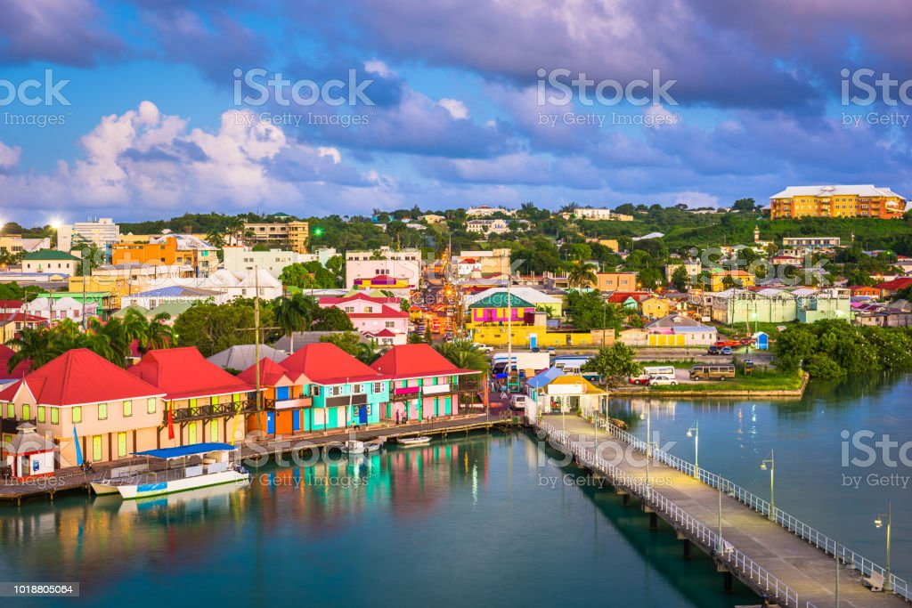 St. John's, Antigua stock photo