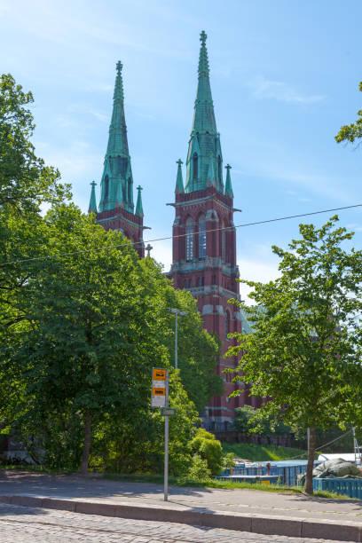 St. John's Church in Helsinki stock photo