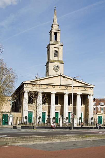 st john's church, waterloo, london - john lewis 個照片及圖片檔