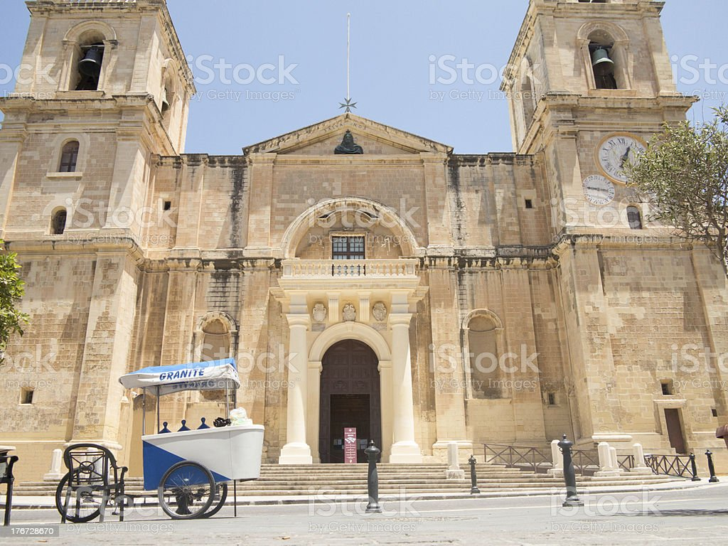 St John's Co-Cathedral royalty-free stock photo