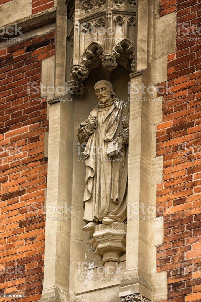 St John's College, Cambridge stock photo