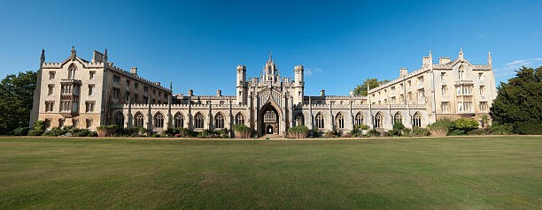 st john's college - cambridge university stock photos and pictures