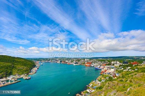 St. John's Harbor, Newfoundland and Labrador, Canada