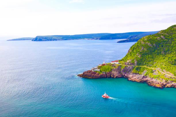 St. John's Harbor, Newfoundland stock photo