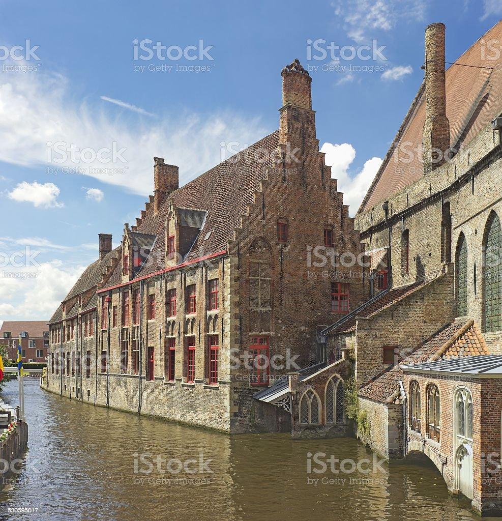 St John's Hospital  in Brugge, Belgium stock photo