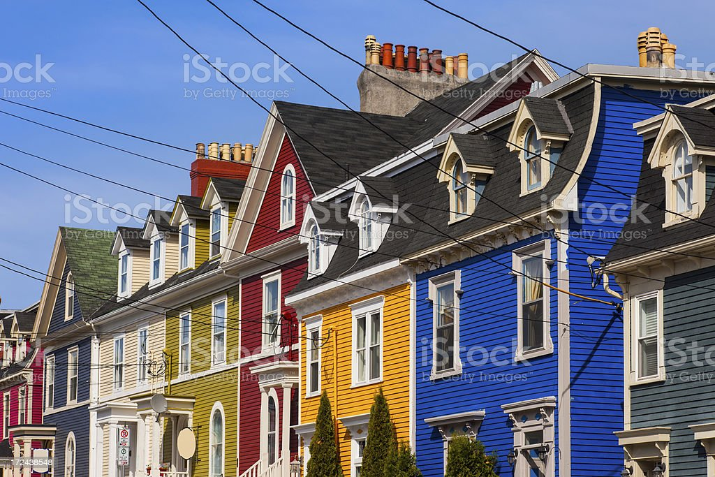 St John's, Newfoundland, Canada stock photo