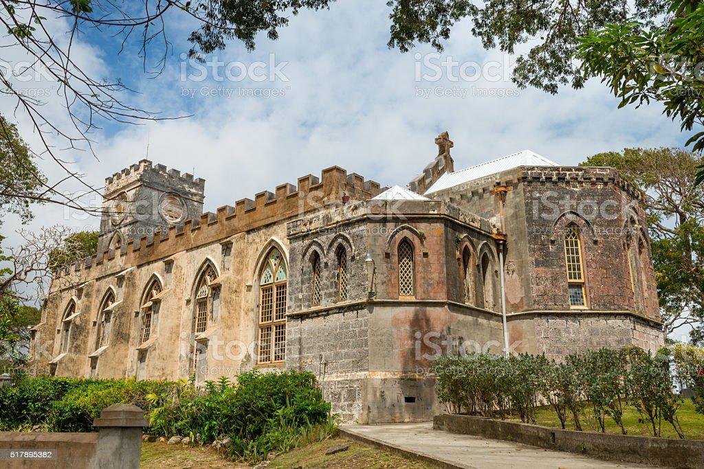 St. John's Parish Church, Barbados stock photo