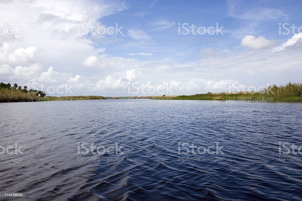St. John's River, Orlando, Florida stock photo