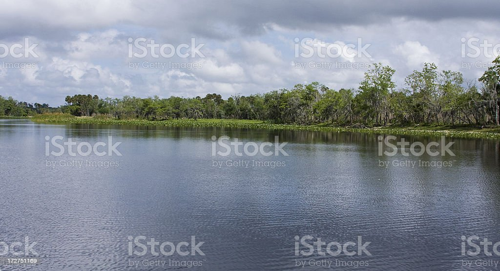 St Johns River View stock photo