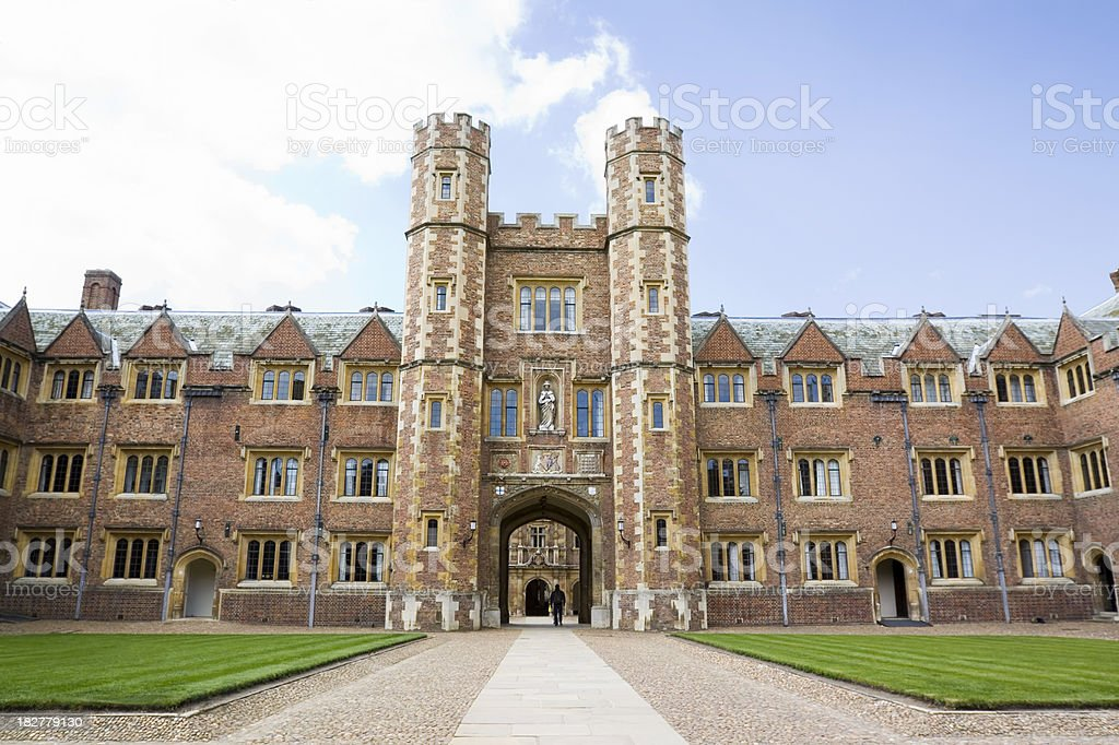 St Johns Second Court Cambridge royalty-free stock photo