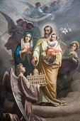 istock St. Joseph and his Sacred Family 962334610