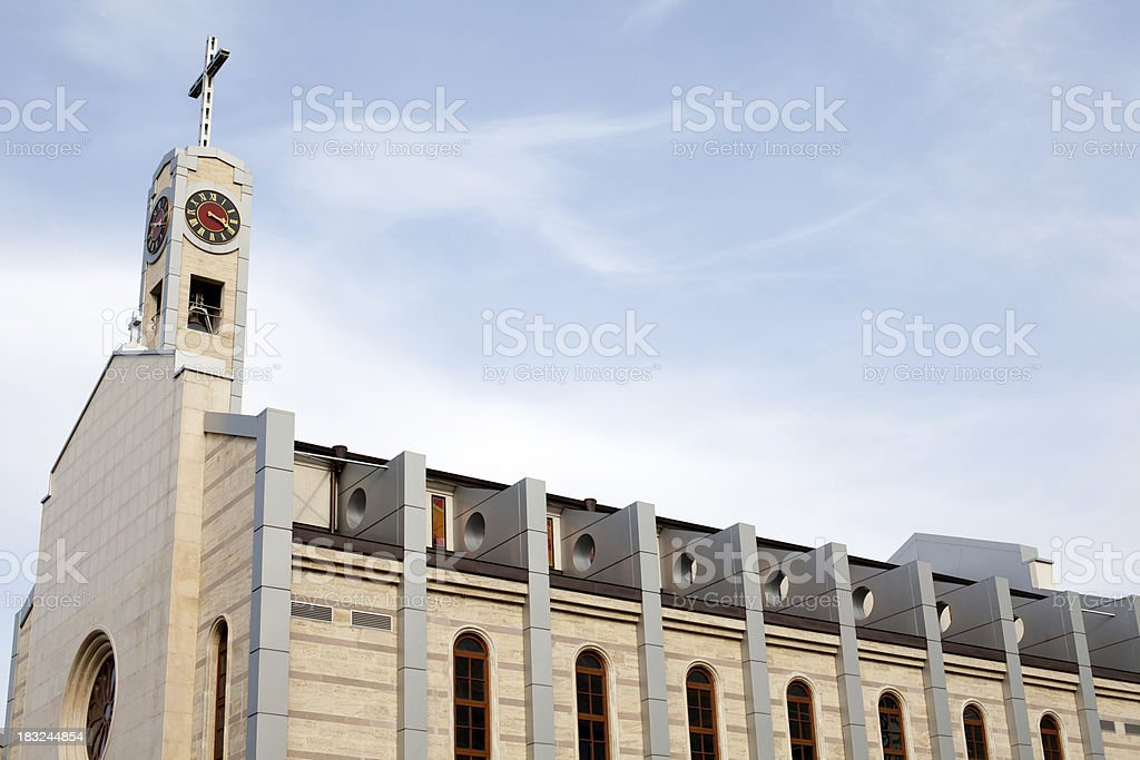 St Joseph cathedral stock photo