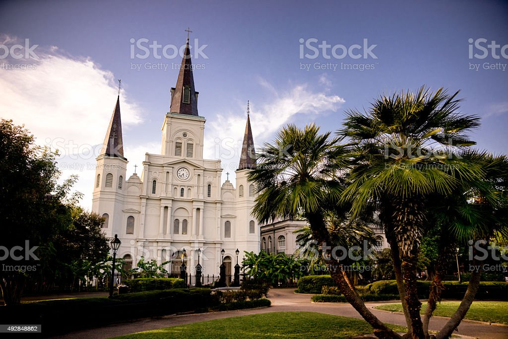 St. Joseph's Cathedral New Orleans Louisiana stock photo