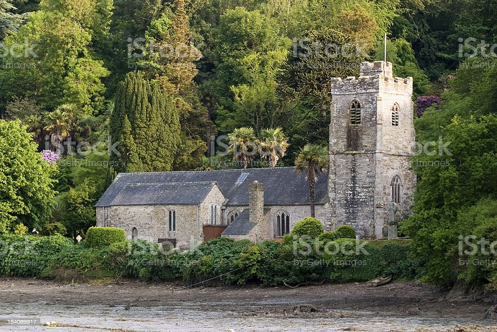 St Just Church royalty-free stock photo